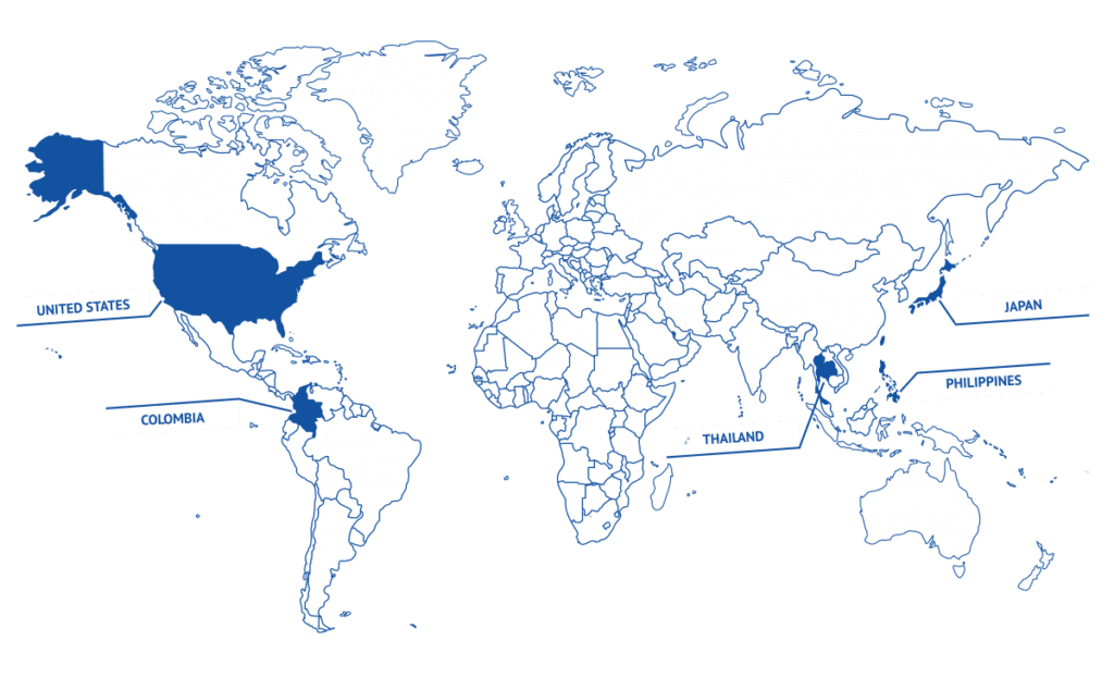 Map of Castem offices
